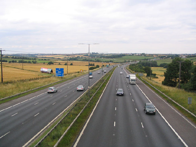 Family die as car driven wrong way on M1