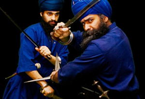 Sikh devotee reviving ancient martial art