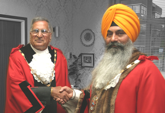 Where are the UK's Sikh mayors