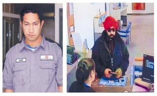Sikh impersonator