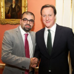 Mann Matharu Meets David Cameron, UK Prime Minister