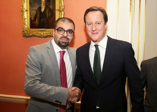 Sikhs Online Founder Mann Matharu Meets UK Prime Minister David Cameron