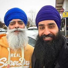 Ravi Singh with Jagraj Singh
