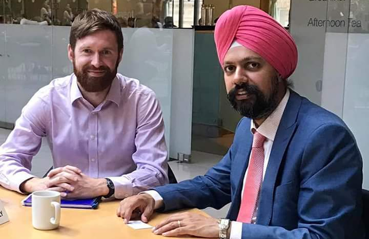 UK MP Tanmanjeet Dhesi calls for direct flights between Amritsar – UK