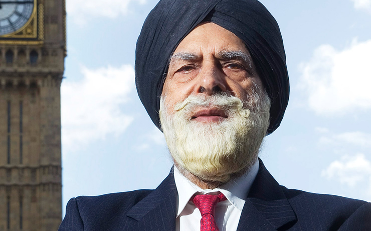 Lifetime Achievement Award for Lord Indarjit Singh CBE