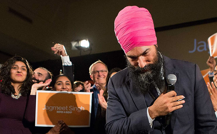 Canada: Jagmeet Singh becomes leader of NDP