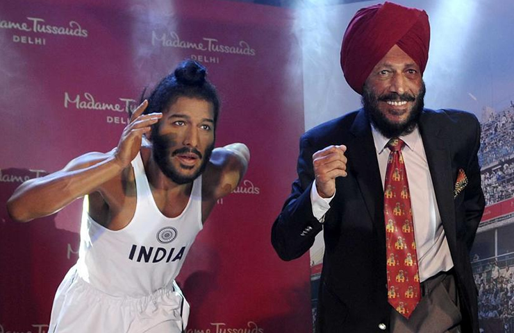 India: Milkha Singh Wax Work Unveiled in Madame Tussauds