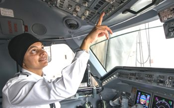 First Turbaned Sikh Female Pilot, Arpinder Kaur