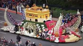 Sikhs Showcase Rose Float