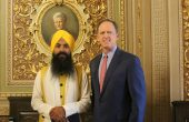 Gurbani was read in the US Senate Chamber