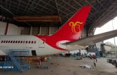 ੴ 'Ik Onkar' symbol painted on aircraft